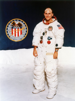 Apollo 16 astronaut Thomas Mattingly, 1971.