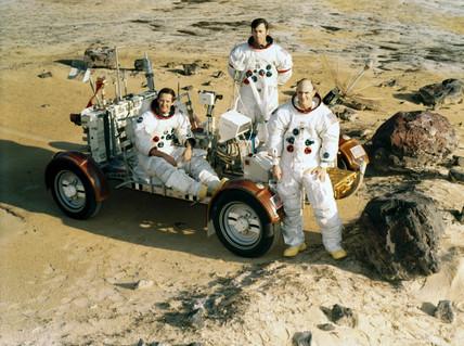 Apollo 16 astronauts, 1972.