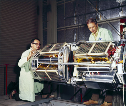 The Meteoroid Technology Satellite, 1972.