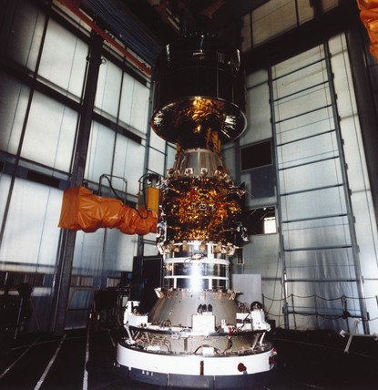 European Meteosat 2 and APPLE satellite, 1981.