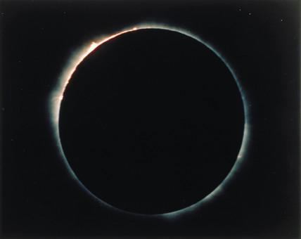 Solar eclipse, 1973.