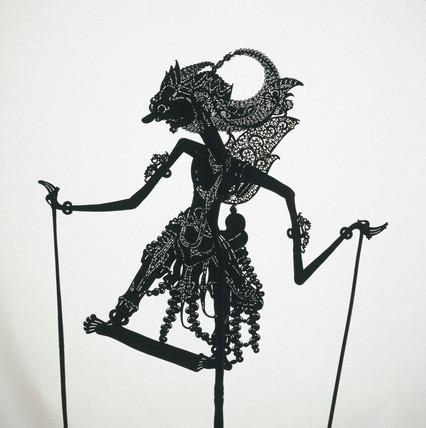 Javanese shadow puppet.