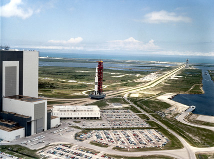 Kennedy Space Centre, Cape Canaveral, Florida, 1969.