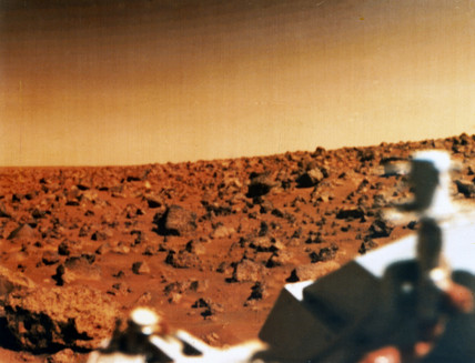 Viking 2 on Mars, 1976.