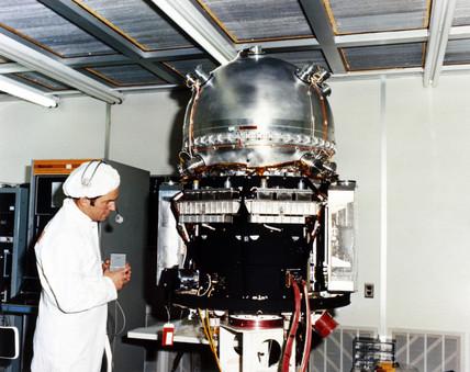 British UK-6 satellite, 1979.