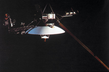 Voyager 1 spacecraft, 1977.