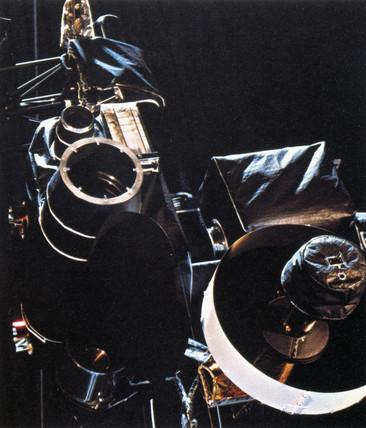 Voyager 1 Scan Platform, 1977.