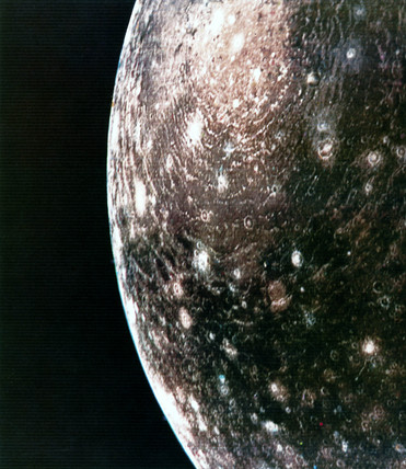 Callisto, one of the moons of Jupiter, 1979. at Science ...