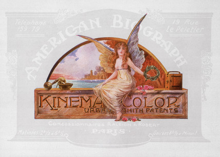 Kinemacolor programme, 1912.