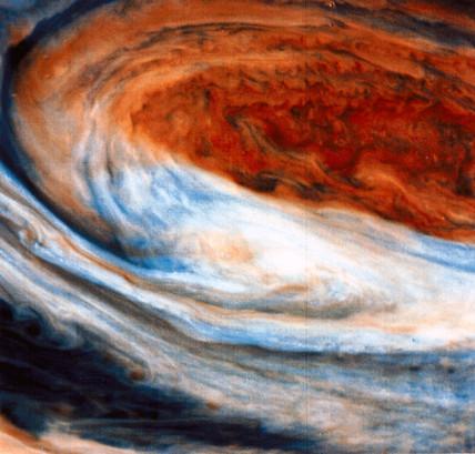 Great Red Spot on Jupiter, 1979.