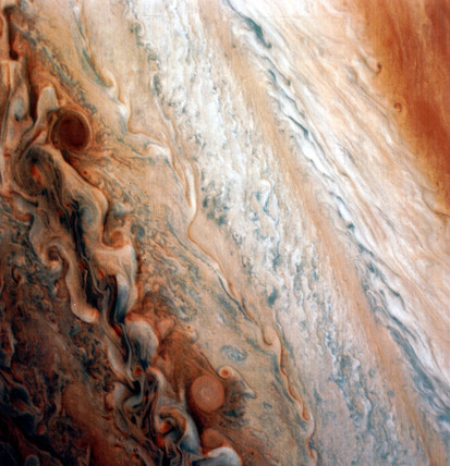 Mid latitude region of Jupiter, 1979.