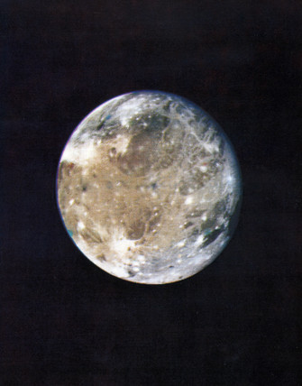 Ganymede, largest of the moons of Jupiter, 1979