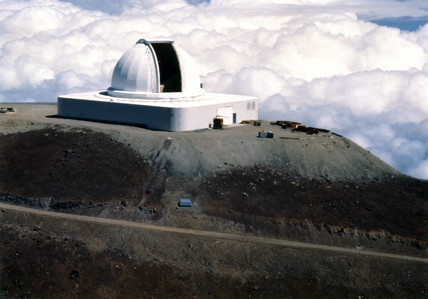 NASA infrared telescope facility, Hawaii, 1979.