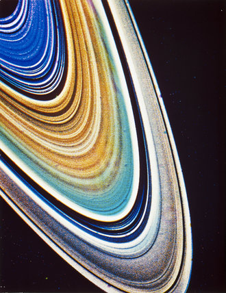 The rings of Saturn, 1981.