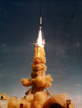 Skylark rocket launch