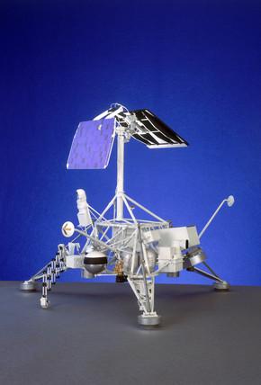 Surveyor soft-lander Moon probe, 1966-1967.