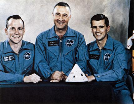 Apollo 1 astronauts, 1967.