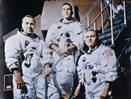 Apollo 8 astronauts, 1968.