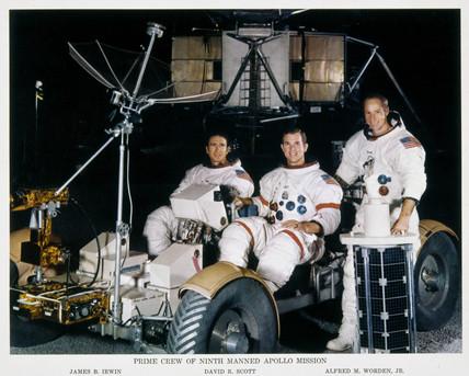 Crew of Apollo 15, 1971.
