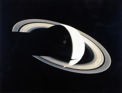 The planet Saturn, 1980.