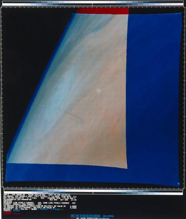 View along the horizon of Jupiter, 1979.