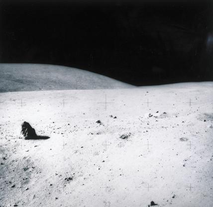 Lunar landscape, 1971-1972.