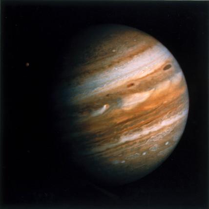 The planet Jupiter, Voyager 1979.