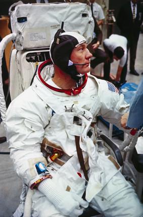 Apollo 11 astronaut Edwin 'Buzz' Aldrin, 1969.