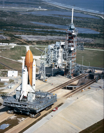 Space Shuttle prior to mision STS-3, 1982.