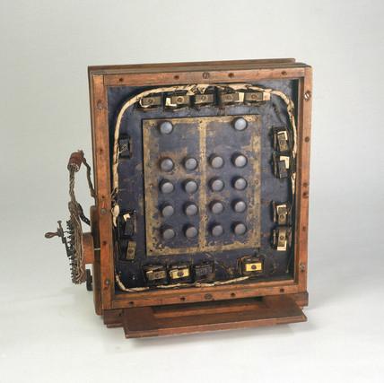 Le Prince 16-lens camera, American, 1886.