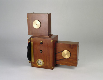 Prestwich Kinematograph camera, 1898.
