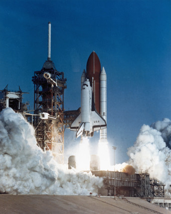 first space shuttle launch - photo #15