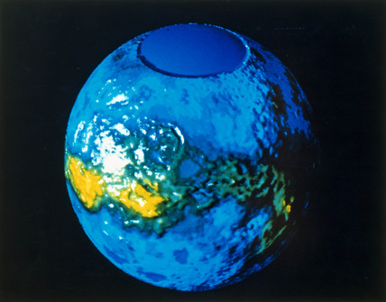 Global view of the surface of Venus, 1982.