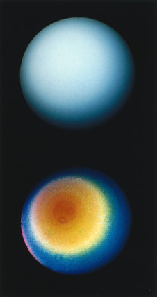 The planet Uranus, 1986.