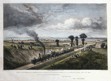 The Opening of the Canterbury & Whitstable Railway, 3 May 1830.
