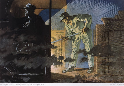 'The Night Mail, The Enginemen', c 1924.