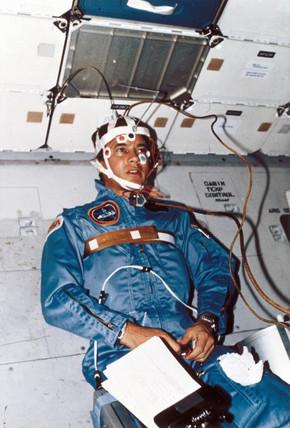 Shuttle astronaut Robert Crippen, 1984.