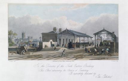 Canterbury Station, Kent, 1846.