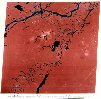 Landsat image of the Amazon, 1972.