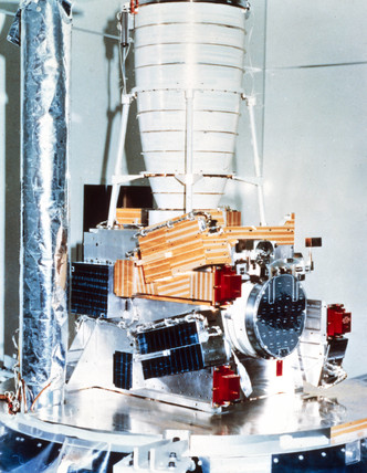 Solar Mesosphere Explorer (SME) satellite, 1981.