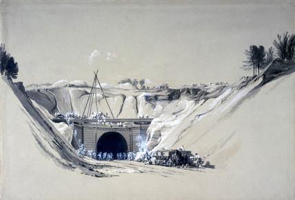 Watford Tunnel, Hertfordshire, 6 June 1837.