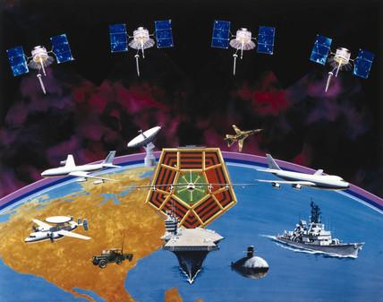 American FLTSATCOM satellite system, 1981.