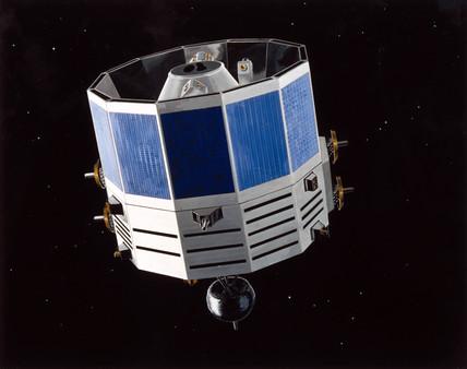 COBE satellite, 1989.