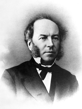 Thomas Andrews, physical chemist, c 1880s.