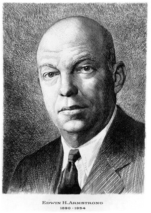 Edwin Howard Armstrong, American electrical engineer, c 1940.