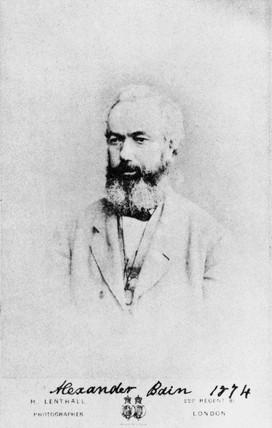 Alexander Bain, Scottish telegraphic inventor, 1874.