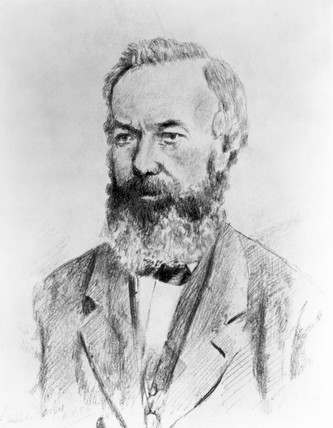 Alexander Bain, Scottish telegraphic inventor, c 1870s.