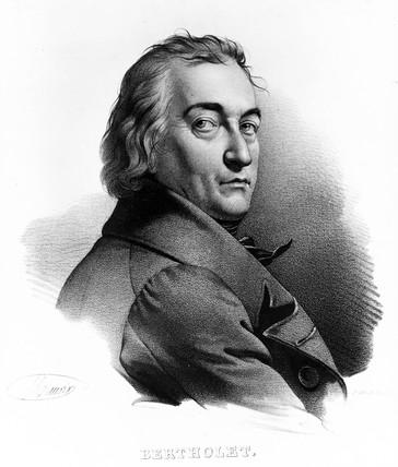 Claude-Louis Berthollet, French chemist, c 1800.