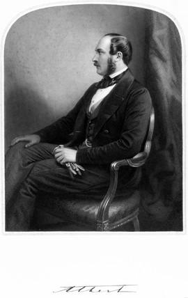 Prince Albert, Consort of Queen Victoria, c 1850-1859.