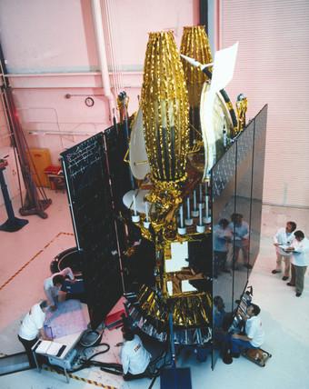 TDRs satellite, 1980s.